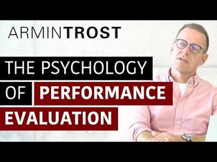 The Psychology of Performance Evaluation