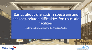 Basics about autism spectrum and sensory-related difficulties for touristic facilities