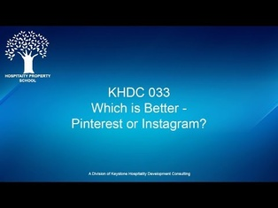Do You Know Which is Better - Pinterest or Instagram? | Ep. #033