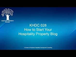 How to Start a Blog for My Hospitality Property | Ep. #028