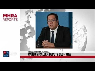 MHRA Reports  - Carlo Micallef MTA Deputy CEO's and Chief Marketing Officer