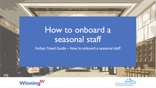 How to Onboard a Seasonal Staff