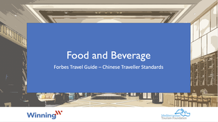 Understanding The Chinese Traveller Food & Beverage