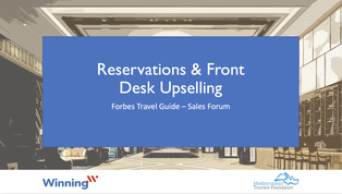 Reservations And Front Desk Upselling