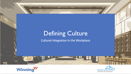 Defining Culture and Cultural Values at Work