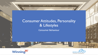 Consumer Attitudes, Personality and Lifestyles