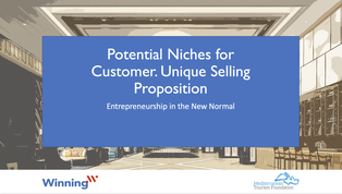 Potential niches for customers. Unique selling proposition