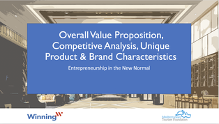 Overall value Proposition, Competitive Analysis, Unique Product and Brand Characteristics