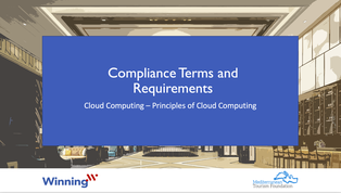 Compliance terms and requirements