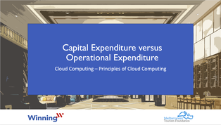 Capital expenditure (CapEx) versus operational expenditure (OpEx)