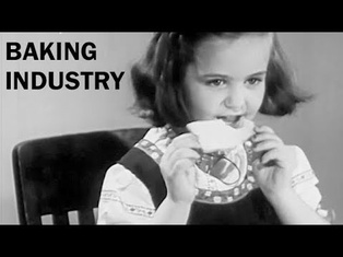 How Bread Was Made in the 1940s | The Baking Industry | Vocational Guidance Film | 1946
