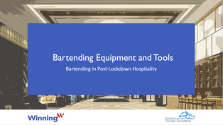 Bartending Equipment and Tools
